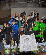 Black Brains 1 Belgisch Kampioen Flyball 2014
